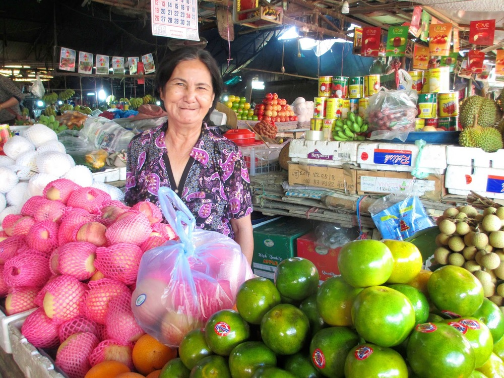 Our local fruit lady