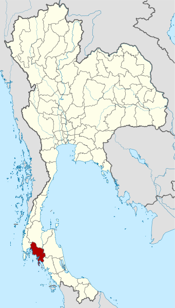 Map of Thailand with Krabi province highlighted -   Wikipedia
