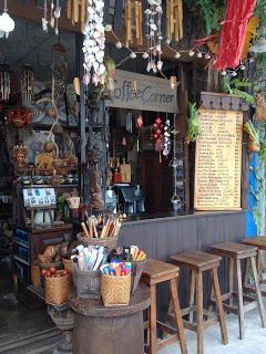 coffee shop in Krabi town