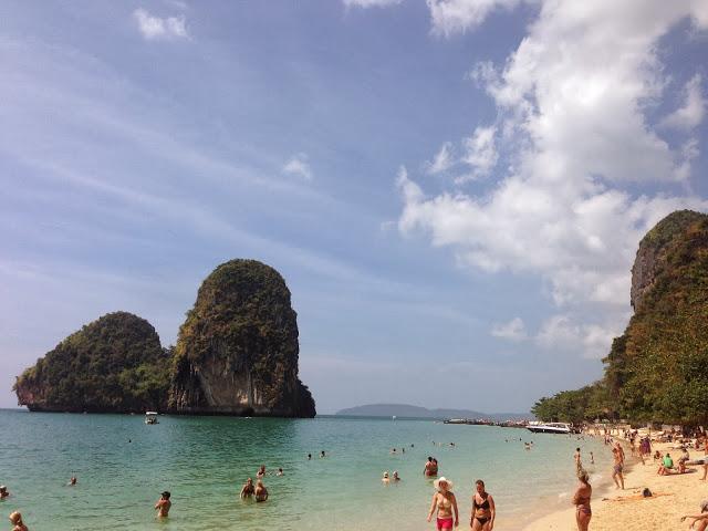 Phranang Cave Beach, Krabi, Thailand