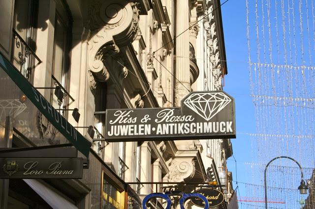 Vienna, Austria - Stephenplatz - Jewelry for Schmucks