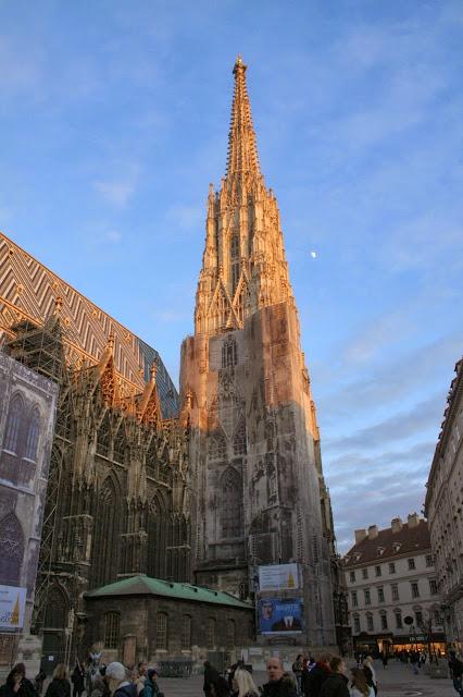 Vienna, Austria - Stephensplatz - St. Stephen's Cathedral