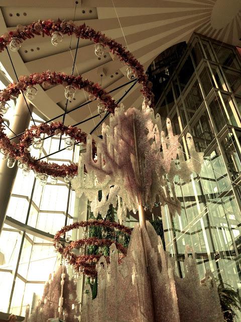 Bangkok Thailand - Christmas decorations inside Siam Paragon Mall