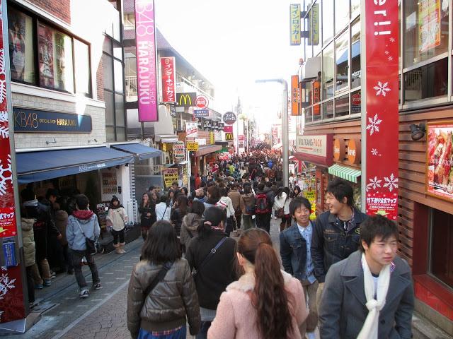 Harajuku in Tokyo, Japan