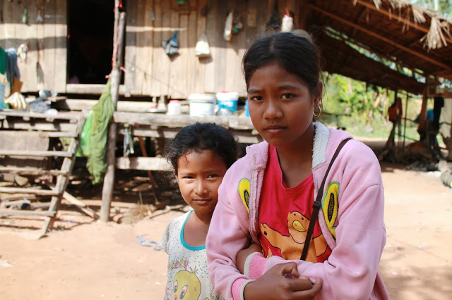Villagers in Cambodia where Samaritan's Purse works