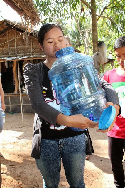 Samaritan's Purse - biosand filter installation - Cambodia