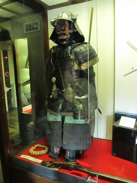 Samurai armor, inside Matsumoto Castle, Japan