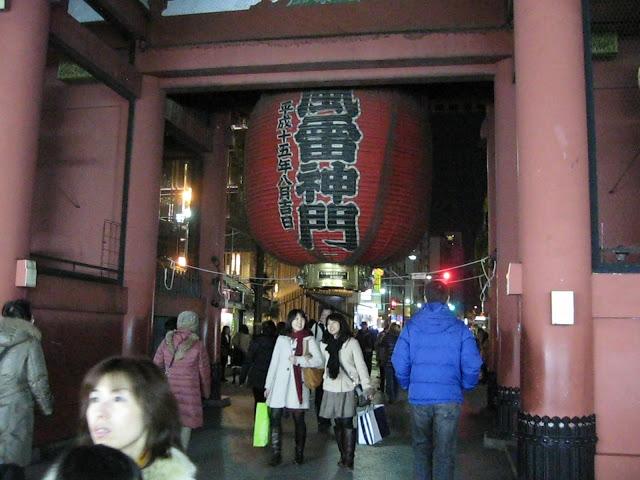Asakusa temple, Tokyo, Japan