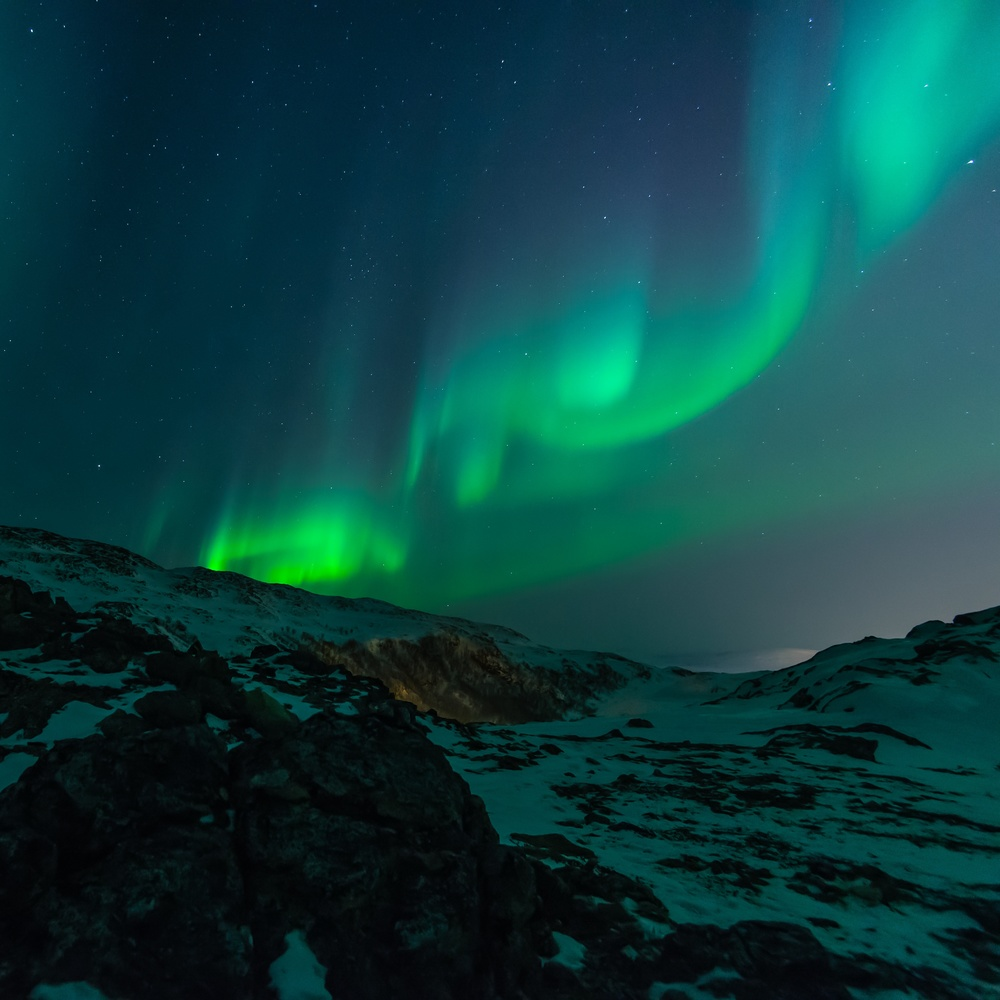 The Northern Lights in Norway (photo credit - Unsplash)