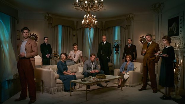 Photo of the cast from And Then There Were None