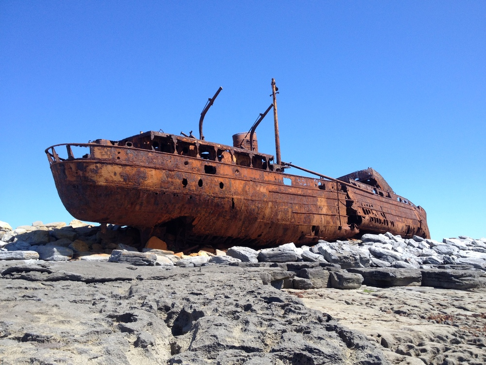 Shipwreck from the 1960's