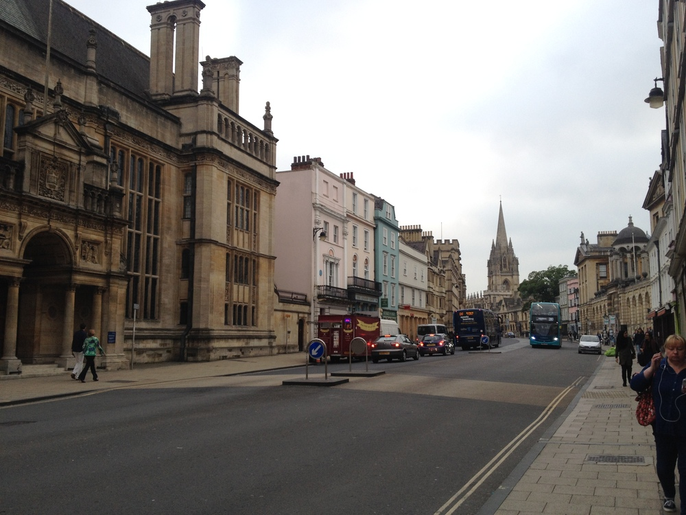 Walking the streets of Oxford
