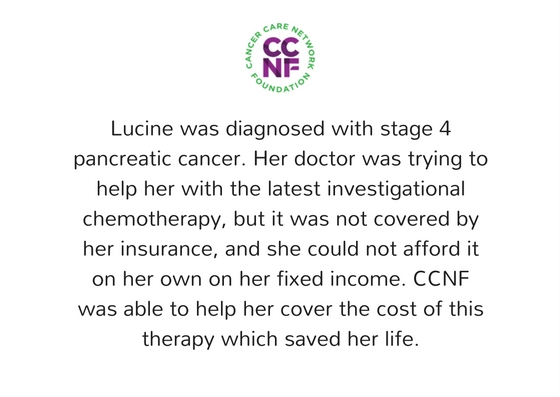 Testimonials  Cancer Care Network Foundation