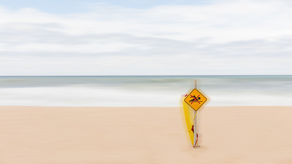HELEN TRENERRY Photographer - Seascape - No Swimming