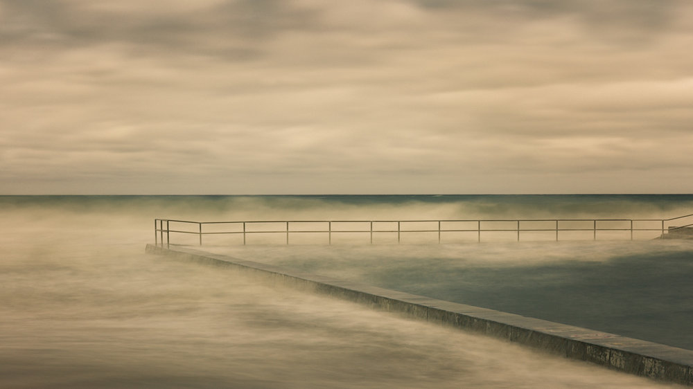 HELEN TRENERRY Photographer - Seascape - Pool Fence