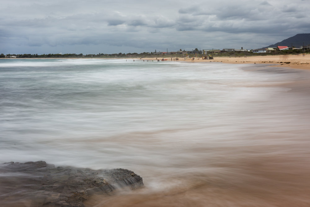 HELEN TRENERRY Photographer - Seascape - Woonona Flow
