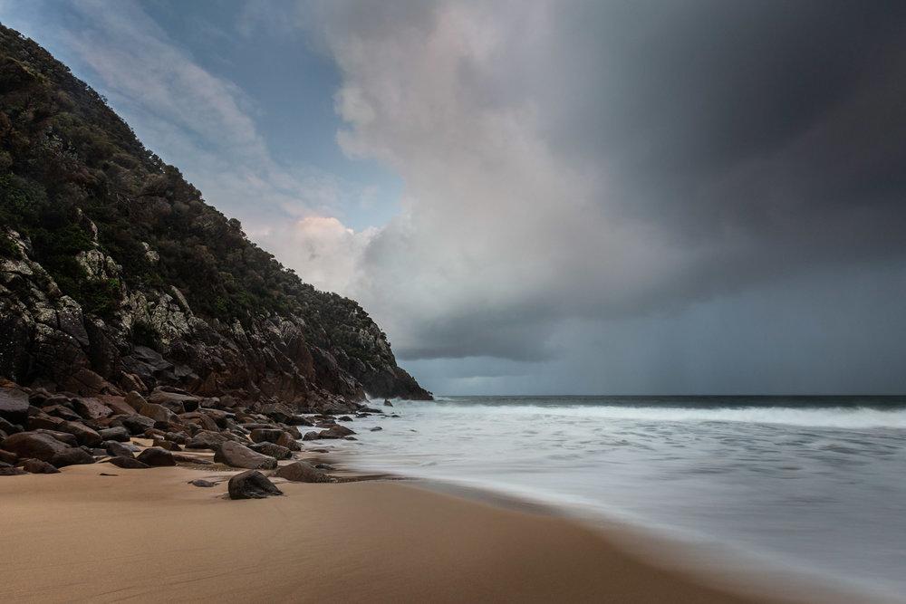 HELEN TRENERRY Photographer - Seascape - Impending Storm