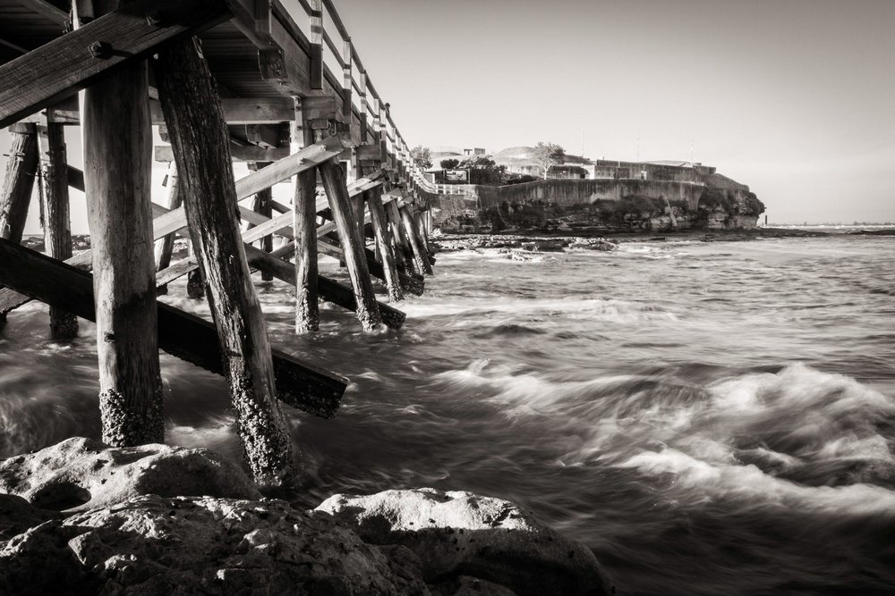 HELEN TRENERRY Photographer - Seascape - Bare Island Bridge
