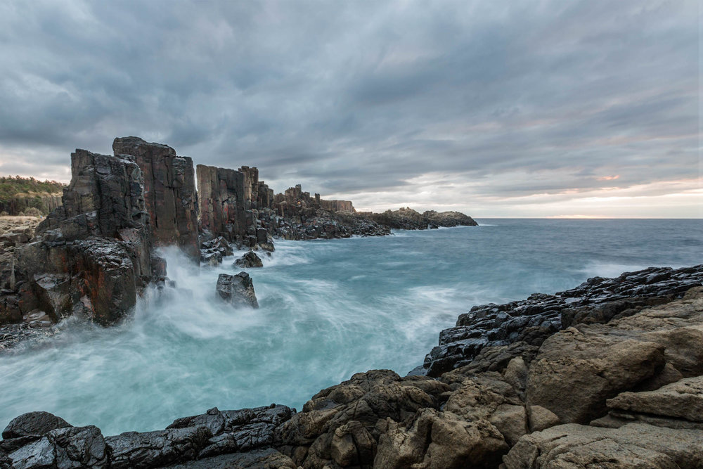 HELEN TRENERRY Photographer - Seascape - Bombo Flow