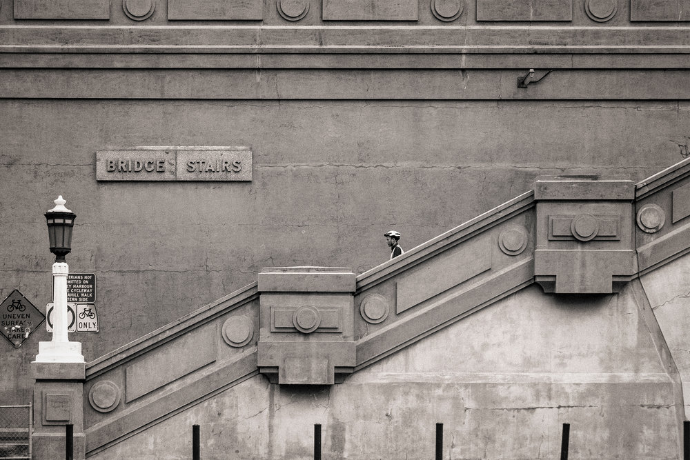 HELEN TRENERRY Photographer - Urban - Bridge Stairs