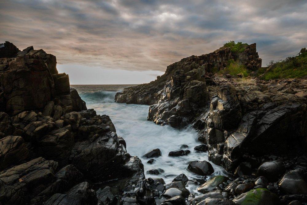 HELEN TRENERRY Photographer - Seascape - Bombo Moods