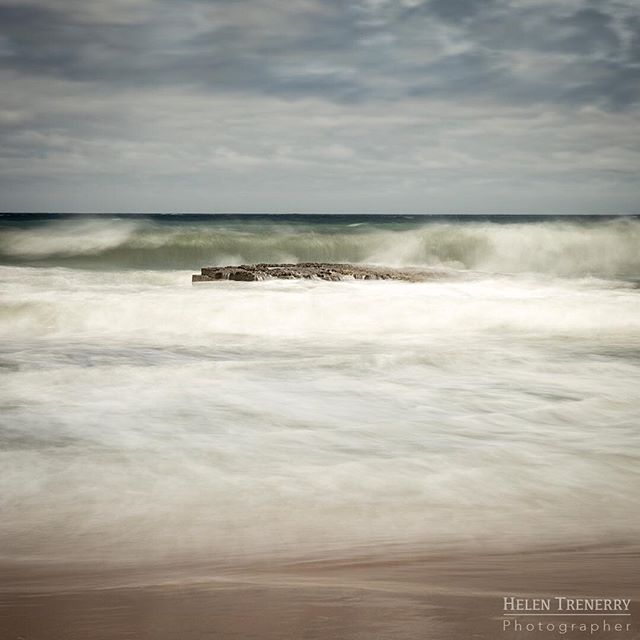 Stormy day at Austinmer Beach, NSW.  South Coast Series.