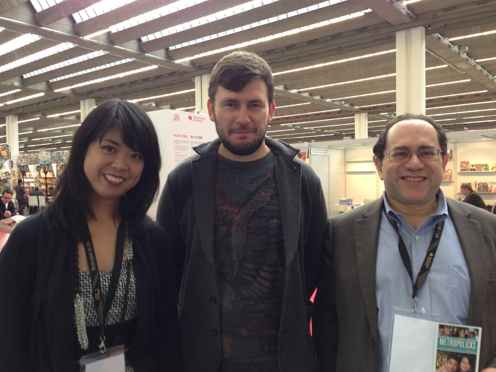 Felicia Lin,  Dmitry Glukhovsky , Victor Scott Rodriguez