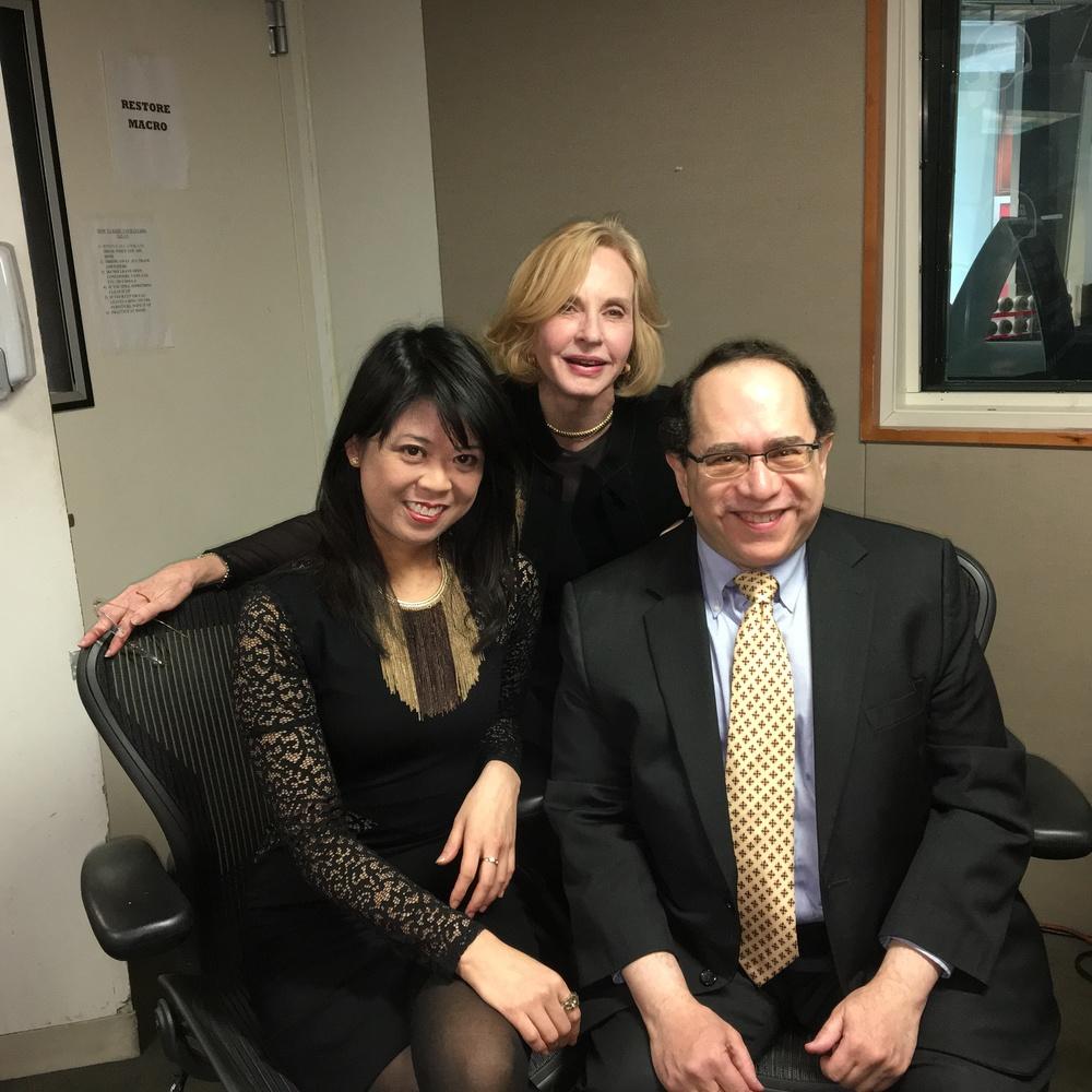 Felicia Lin, Pia Lindstrom, Victor Scott Rodriguez