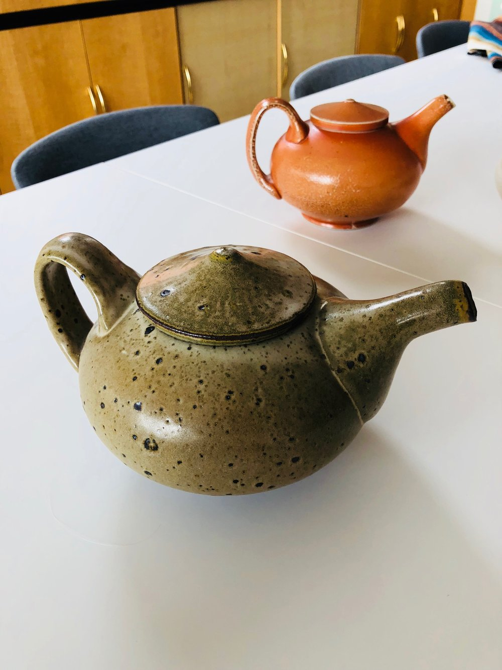 Teapots by Tyler Gulden