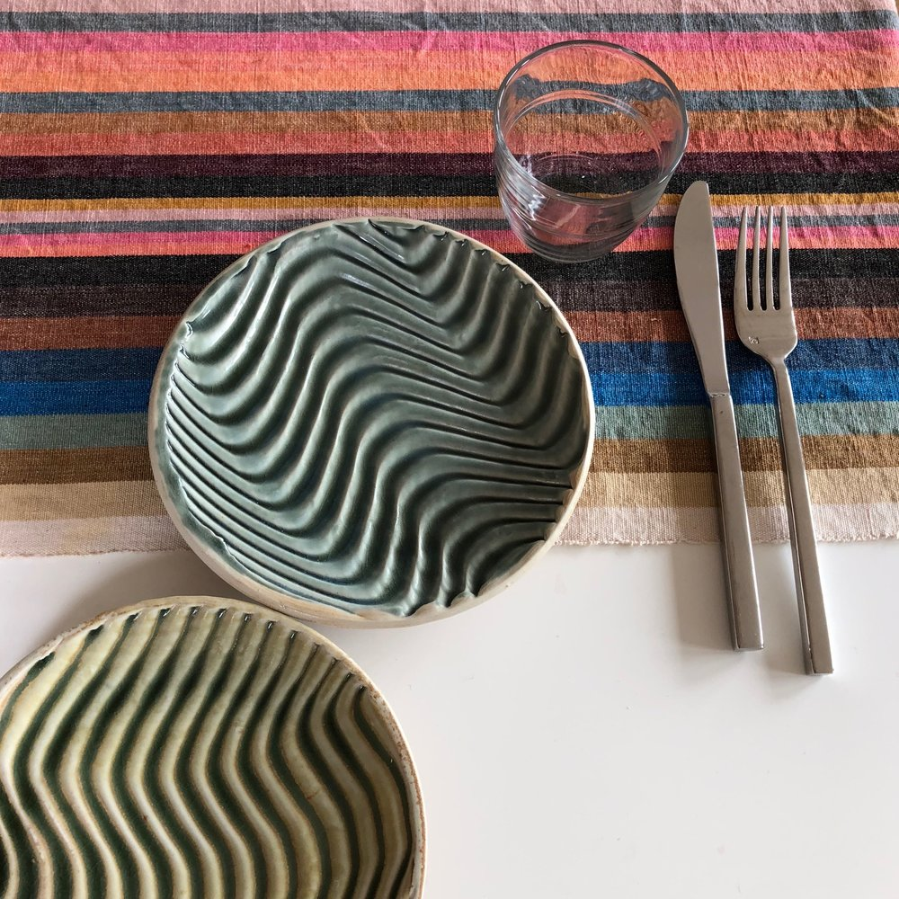 Small Textured Plates