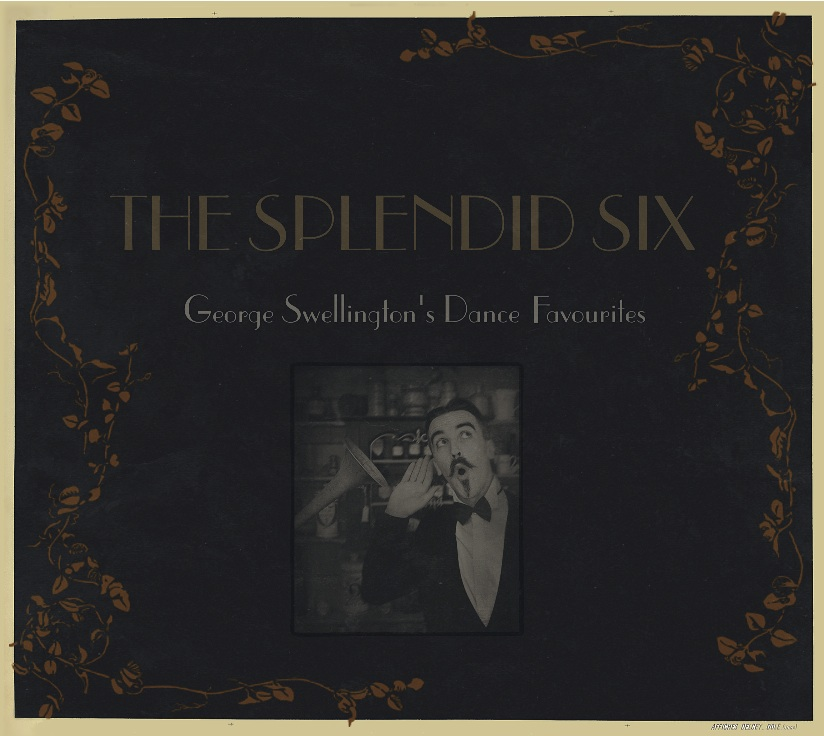 Splendid Six CD cover, inspired by turn of the century Parisian prints.