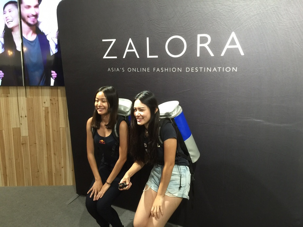 Zalora Pop-up Store Promotion