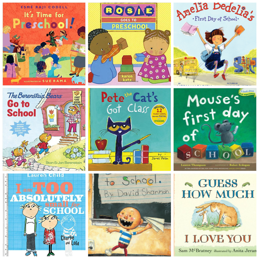 Suburban Cooperative Nursery School || Readings for back to school || Rocky River, Ohio || Preschool