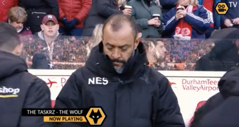 Nuno knows a banger when he hears one.