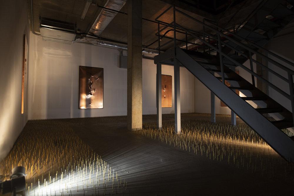 FRANZ-KLAINSEK_REBIRTH-AXE-ON-COPPER-PRESENCE-Hoerle-Guggenheim-Gallery_003.jpg