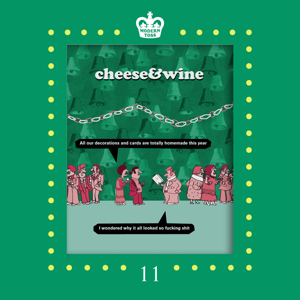 Stuff yourself with   Cheese & Wine   this Christmas yeah?