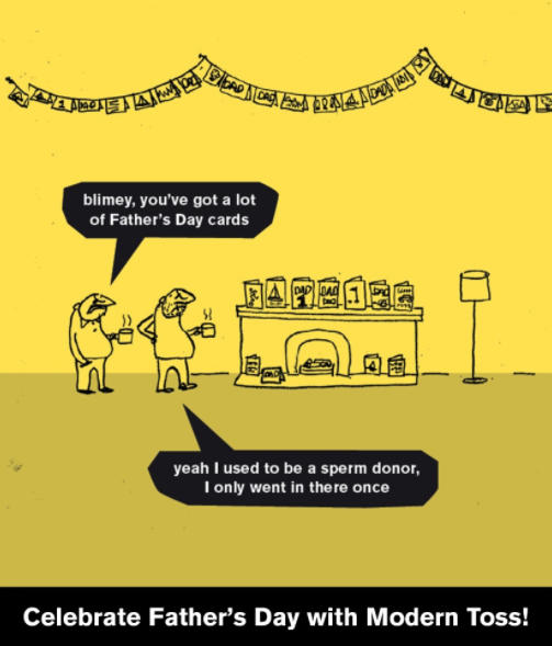 Modern Toss father's day