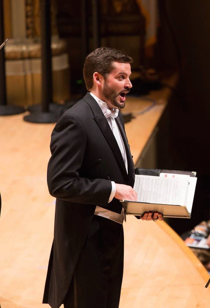 <i>The Trumpet Shall Sound</i> from Handel's <i>Messiah</i> with the Handel and Haydn Society; photo by Gretjen Helene