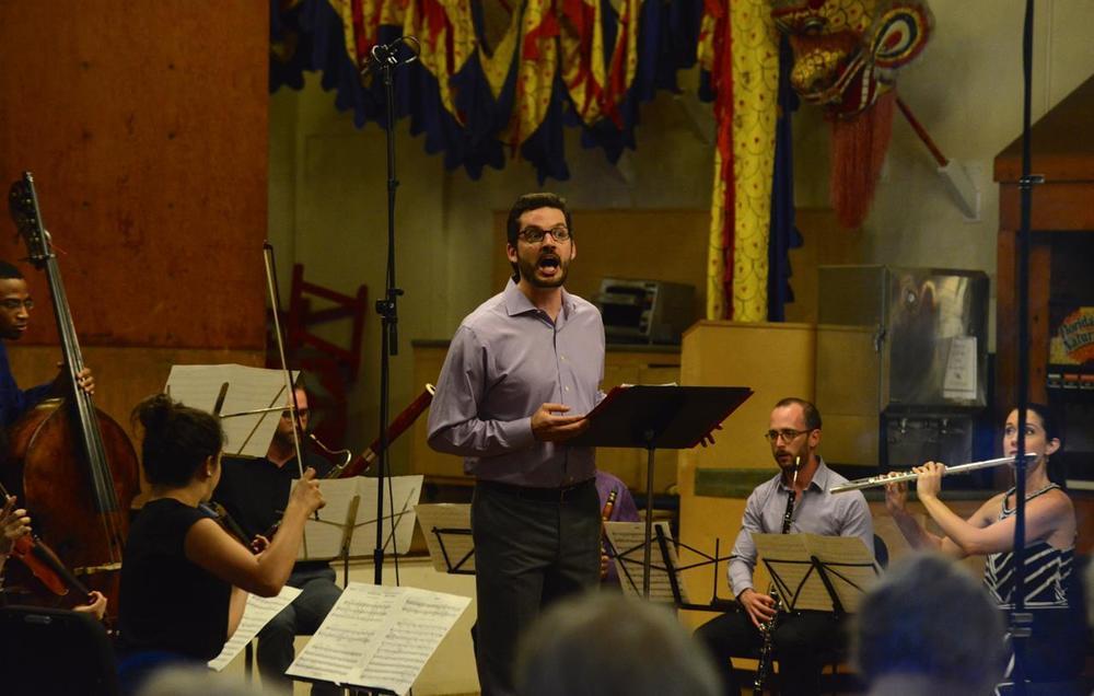 Stravinski's <i>Pribaoutki</i> with members of the Marlboro Music Festival