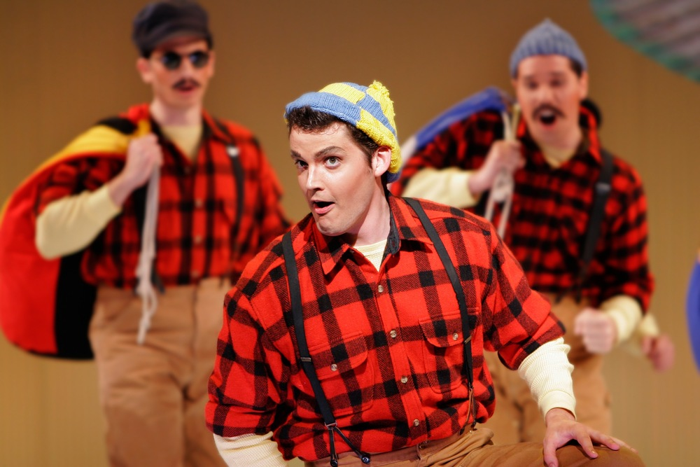 Florida Grand Opera production of Britten's <i>Paul Bunyan</i>; photo by Deborah Gray Mitchell