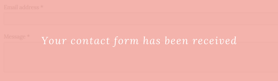 Your contact form has been received.
