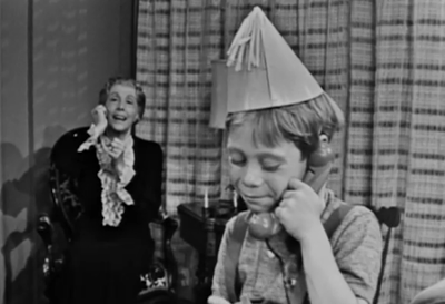 Playing telephone with the dead is standard fare in the Twilight Zone.