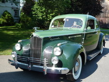 John Johnson's 1941 Packard will be on display at the   Porter-Phelps-Huntington     Museum   on October 5th.