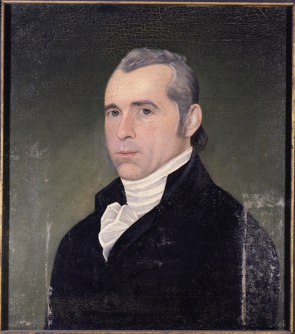 Dan Huntington, Painted by Simon Fitch around 1801.