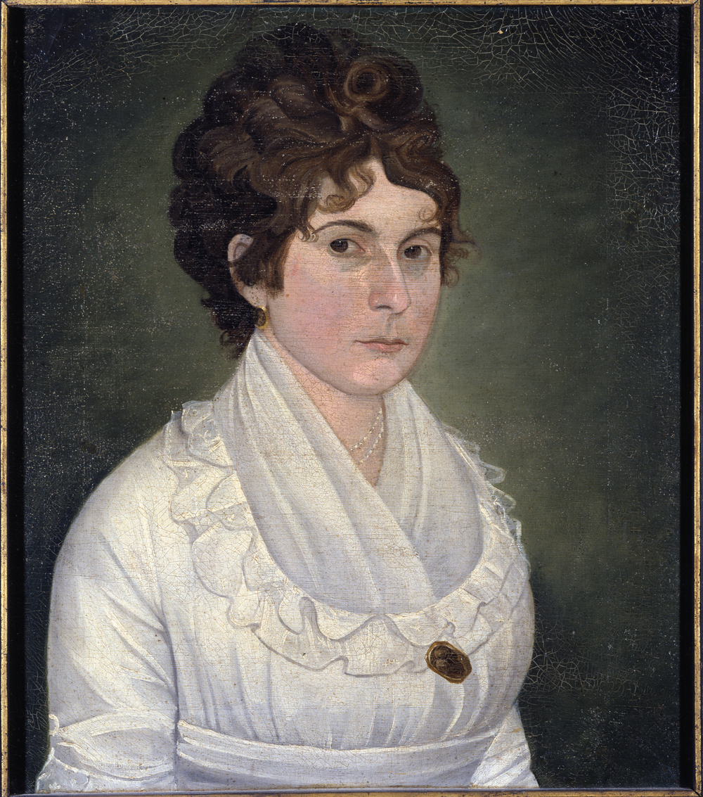 Elizabeth Whiting Phelps Huntington married Reverend Dan Huntington and later moved to Forty Acres where she and her husband raised their eleven children.