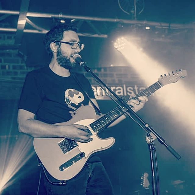 Live @centralstationwrexham for @focuswales with @martynpetersmusic! 📸: @johnbadham #music #chriswmusic #martynpeters #focuswales2018a