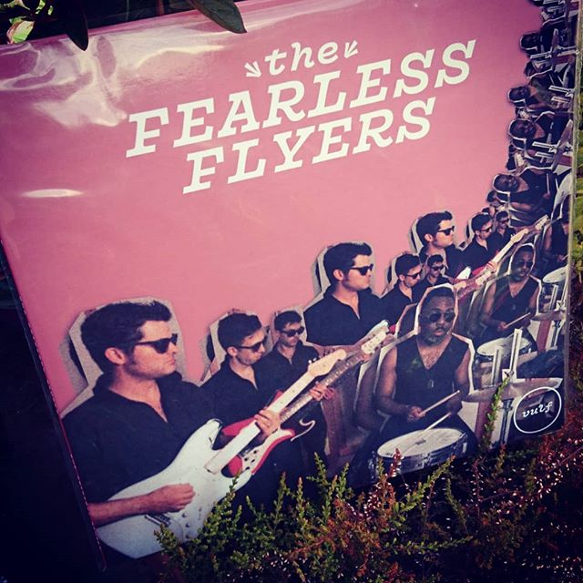 Not everyday @mjlettieri arrives by mail. Looking forward to spinning this! #thefearlessflyers #vulfpeck