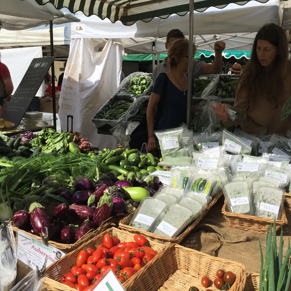 Notting Hill Farmer's Market, UK