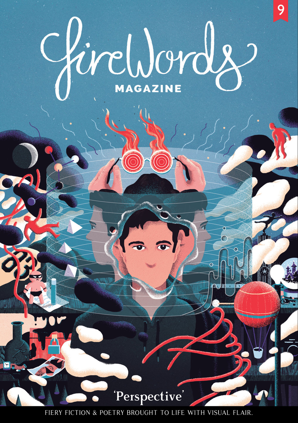 Cover for Firewords Magazine: Perspective Issue
