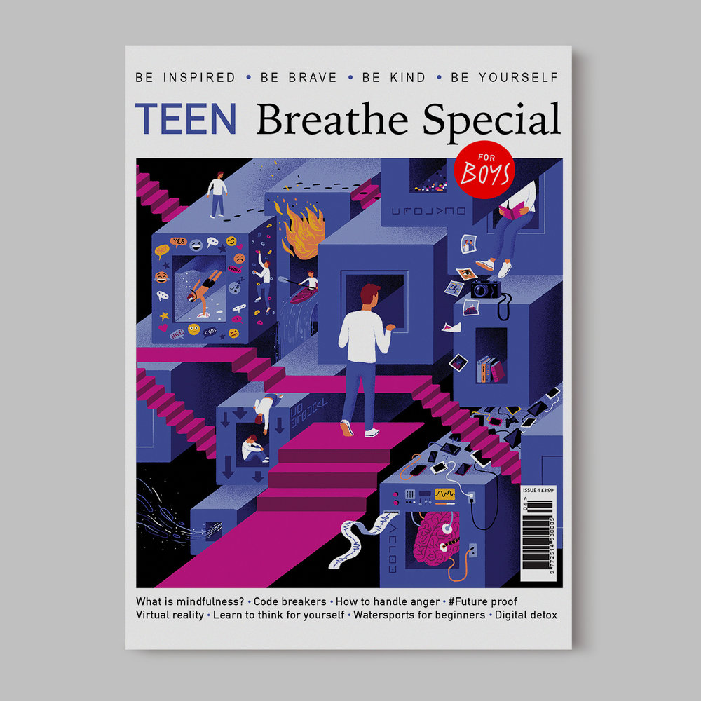 Cover for TEEN Breathe Magazine